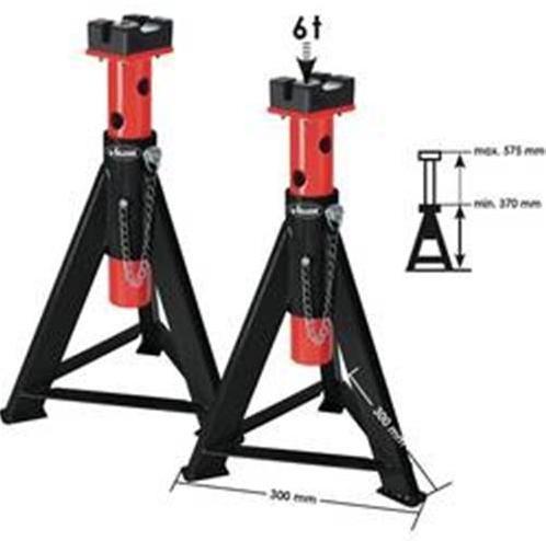 Podpera Vigor, V2648, 370 - 575 mm, 6 t, 2 ks 1288006