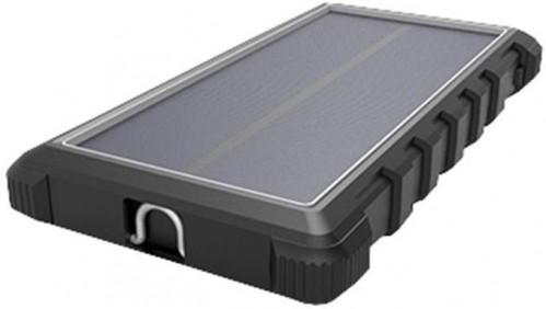 Power Bank Viking W10, 10000mAh, solární, QC 3.0, USB-C čierna