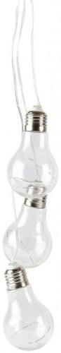 Svetelná LED dekorácia Villa Collection Light Bulb, 3 svetielka