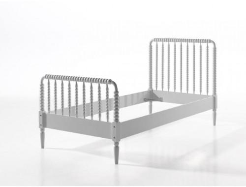 Biela detská posteľ Vipack Alana, 90 × 200 cm