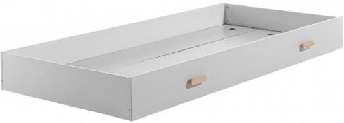 Biely úložný box pod posteľ Vipack Cocoon