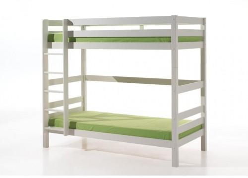 Prírodná detská poschodová posteľ Vipack Pino, výška 180 cm