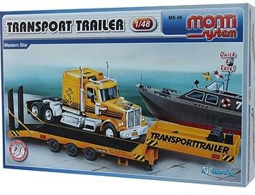 Monti system 46 - Transport Trailer Western Star 1:48