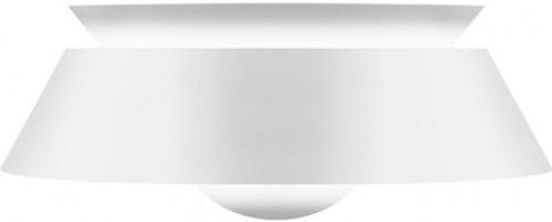 Biele stropné tienidlo VITA Copenhagen Cuna, Ø38 cm