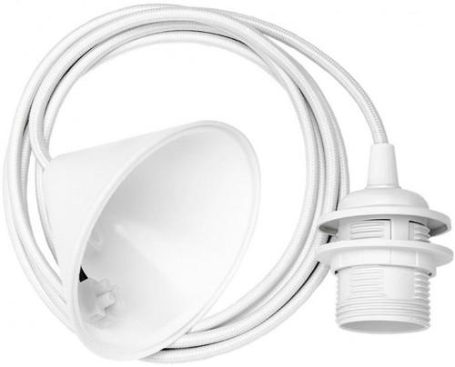 Biely závesný kábel k svietidlám VITA Copenhagen Cord, dĺžka 210 cm
