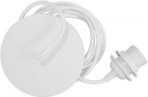Biely závesný kábel k svietidlám VITA Copenhagen Rosette, dĺžka 210 cm