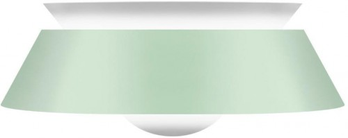 Svetlozelené stropné zelené tienidlo VITA Copenhagen Cuna, Ø38cm
