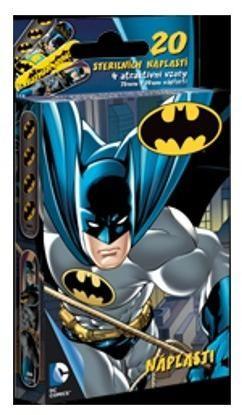 VitalCare Sterilné náplasti pre deti Batman 20 ks