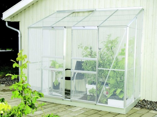 skleník VITAVIA IDA 3300 PC 4 mm strieborný