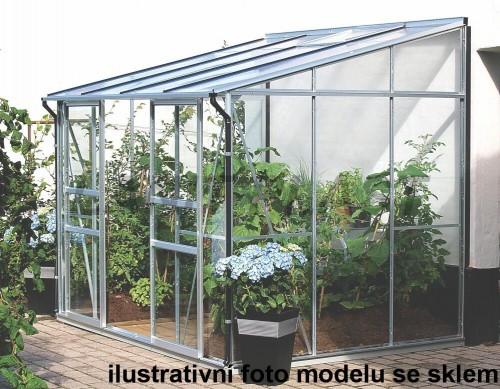 skleník VITAVIA IDA 5200 PC 6 mm strieborný
