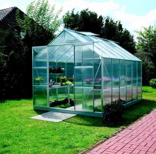 skleník VITAVIA URANUS 9900 PC 4 mm strieborný