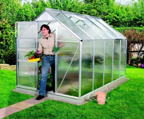 skleník VITAVIA VENUS 6200 PC 4 mm strieborný