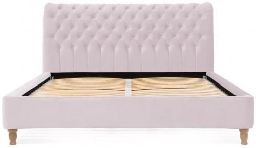 Svetlofialová posteľ z bukového dreva Vivonita Allon, 180 × 200 cm
