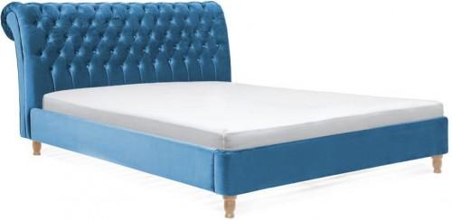 Tyrkysová posteľ z bukového dreva Vivonita Allon, 140×200cm
