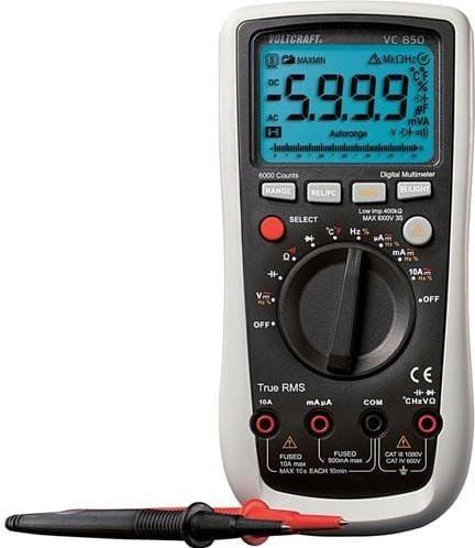 Multimeter Voltcraft VC850 digitálny 124602