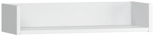 Biela nástenná polica Vox Boca, šírka 60 cm
