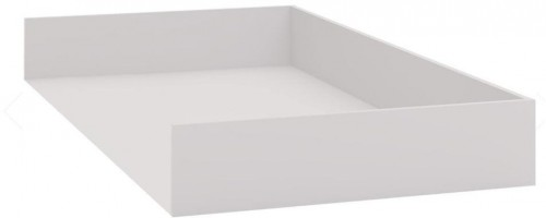 Biela prídavná zásuvka pod jednolôžkovú posteľ Vox Evolve