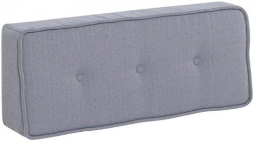 Sivá zadná opierka so vzorom rybej kosti k modulovej pohovke Vox Custom