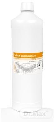 Dezinfekcia - bórová voda 3% roztok, 1000 g