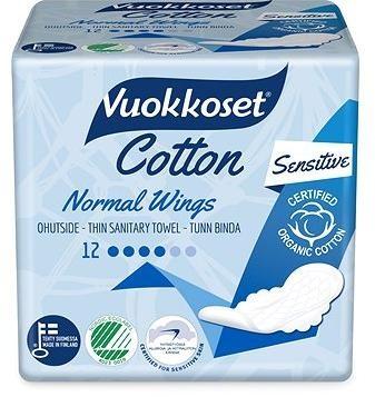 VUOKKOSET Cotton Normal Wings Thin 12 ks