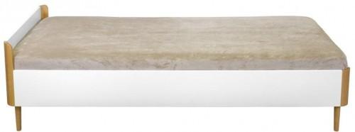 Biela jednolôžková posteľ We47 Fun, 200 x 90 cm