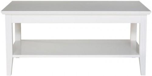 Biely konferenčný stolík We47 Family, 100 × 65 cm