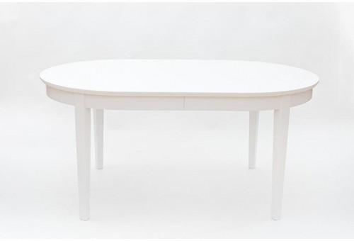 Biely rozkladací jedálenský stôl We47 Family, 165 - 265 × 105 cm