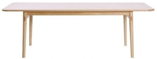 Jedálenský stôl z dubového dreva We47 Havvej, 225 × 92 cm