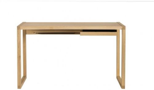 Pracovný stôl z dubového dreva We47 Renfrew, 126 × 55 cm