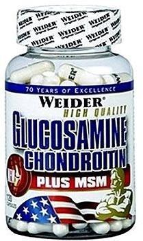 Weider Glucosamine Chondrotin+MSM 120kapslí