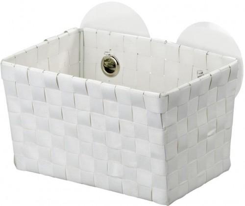 Biely košík s prísavkami Wenko Fermo