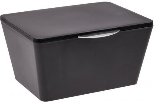 Čierny kúpeľňový box Wenko Brasil