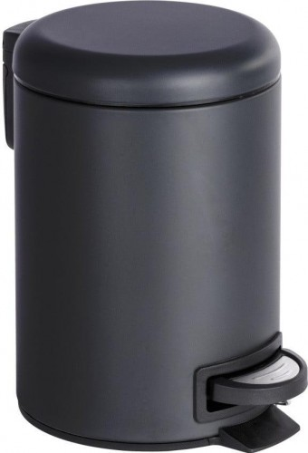 Odpadkový kôš v čiernej farbe Wenko Leman, 3 l