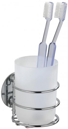 Samodržiaci držiak na zubné kefky Wenko Turbo-Loc, až 40 kg