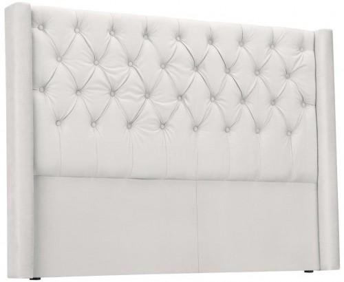 Biele čelo postele Windsor & Co Sofas Queen, 176×120 cm