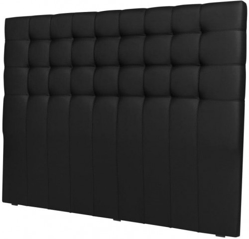 Čierne čelo postele Windsor & Co Sofas Deimos, 180×120 cm
