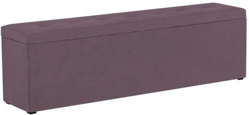 Fialová leňoška s úložným priestorom Windsor & Co Sofas Astro, 160×47 cm