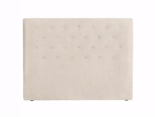Krémové čelo postele Windsor & Co Sofas Astro, 200×120 cm