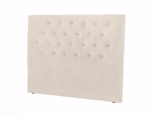 Krémovobiele čelo postele Windsor & Co Sofas Astro, 180×120 cm