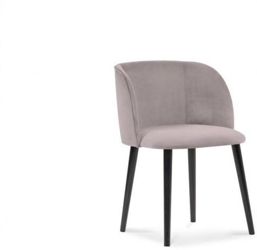 Levanduľovofialová jedálenská stolička so zamatovým poťahom Windsor & Co Sofas Aurora