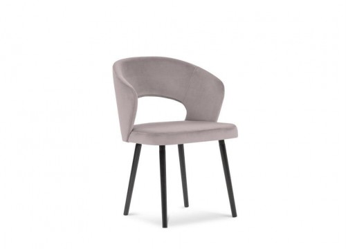 Levanduľovofialová jedálenská stolička so zamatovým poťahom Windsor & Co Sofas Elpis
