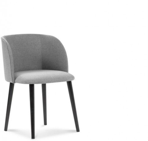 Svetlosivá jedálenská stolička Windsor & Co Sofas Antheia