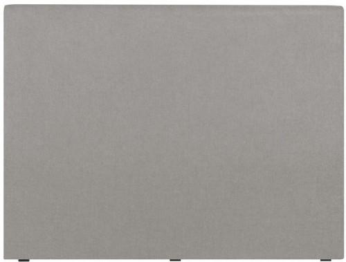 Svetlosivé čelo postele Windsor & Co Sofas UNIVERSE, 160 × 120 cm