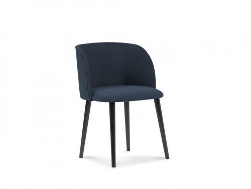 Tmavomodrá jedálenská stolička Windsor & Co Sofas Antheia
