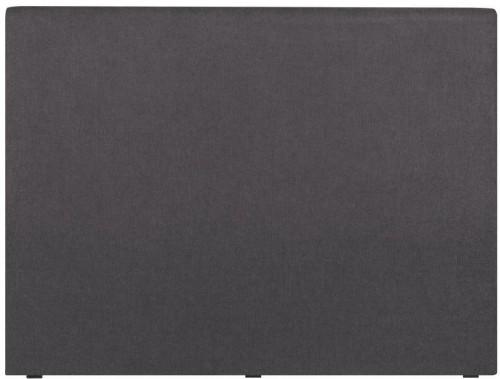 Tmavosivé čelo postele Windsor & Co Sofas UNIVERSE, 160 × 120 cm