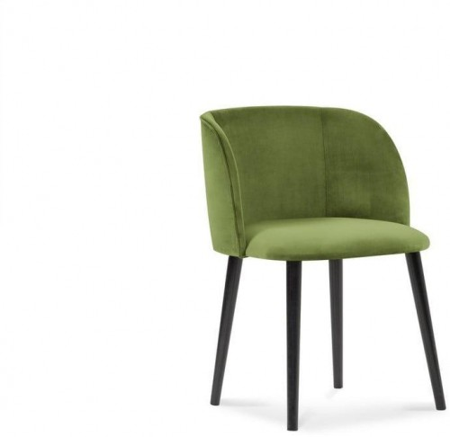 Zelená jedálenská stolička so zamatovým poťahom Windsor & Co Sofas Aurora