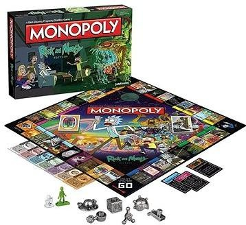 Monopoly Rick and Morty, ENG