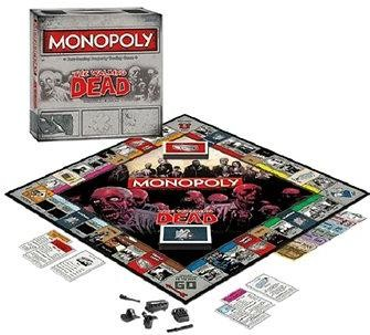 Monopoly Walking Dead, ENG