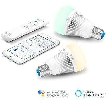 WiZ Wifi chytrá žárovka 2x E27 s ovladačem WZ0126082