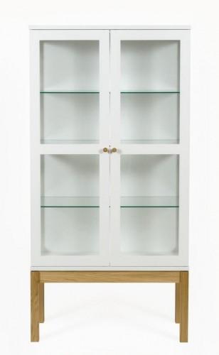 Biela knižnica/vitrína Woodman AbbeyWood